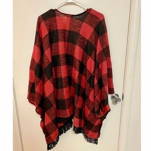 Mossimo Supply Co. Sweaters - Blanket Cardigan/Open Front Poncho